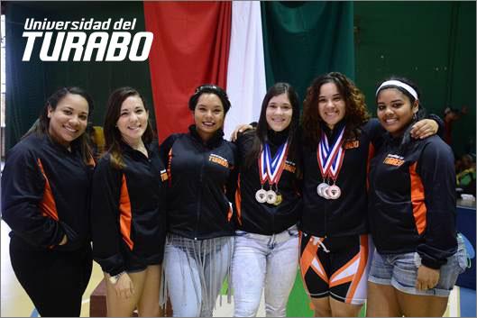Taínas-campeonas-levantamiento-de-pesas-2014