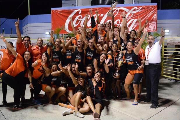 Campeonato Natación femenino y masculino 2015