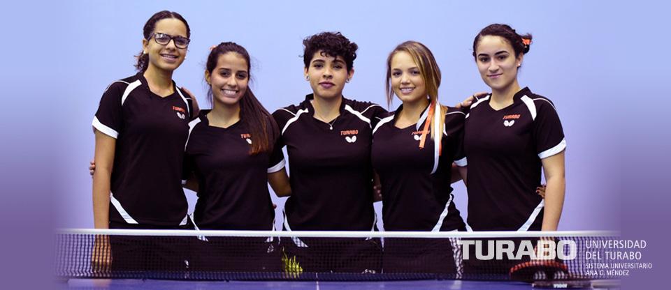 Equipo de Tenis de Mesa  Femenino 2017